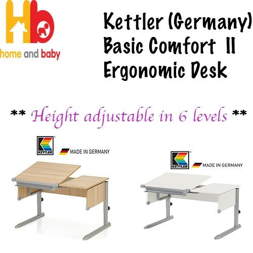 kettler germany basic comfort ii ergonomic desk singapore. Black Bedroom Furniture Sets. Home Design Ideas