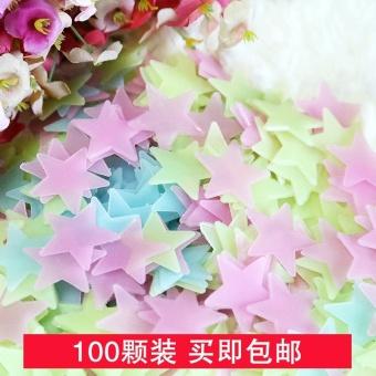 Luminous fluorescent stickers wallpaper 3D stars - intl - 3