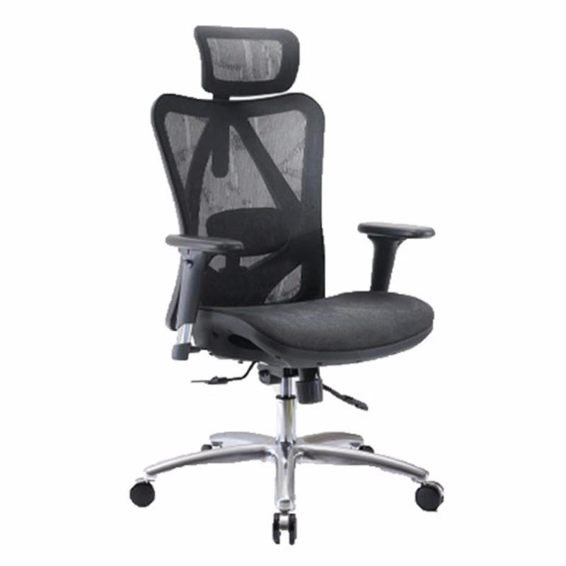 M16 Iden Ventilated Office Chair (Black)(Installation Option Available) Singapore