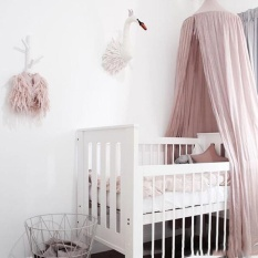 MagicWorldMall Practical High-quality Hot Sell Bed Canopy Round Dome Mosquito Net Hanging Curtain Baby Kids Bedroom Supply - intl