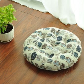 Meditation round yoga windows and floor chair cushion fabric cushion