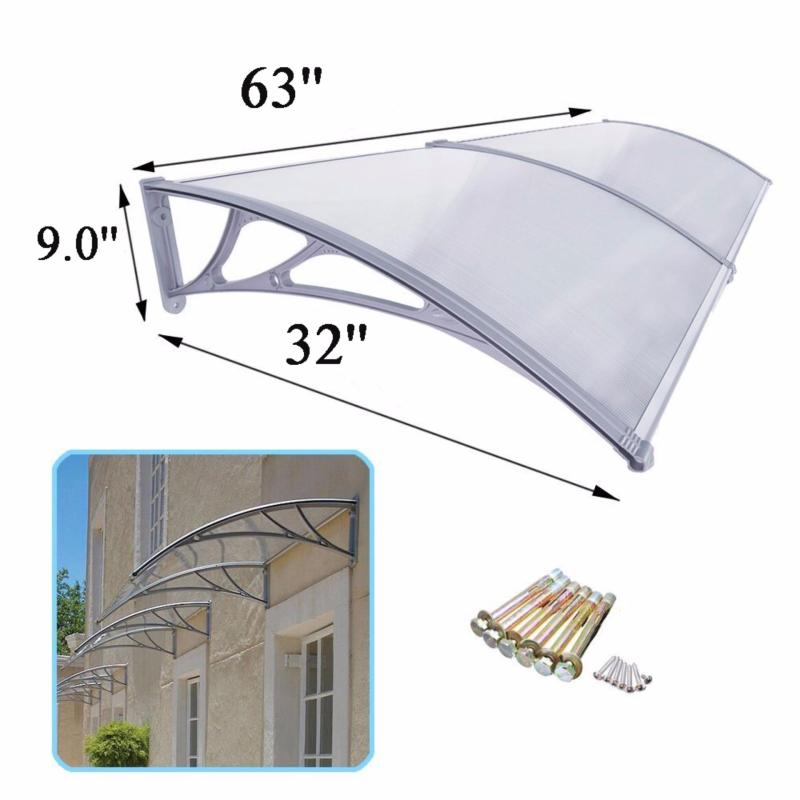 Merican PCA11  800mm*1600mm polycarbonate awning transparent
