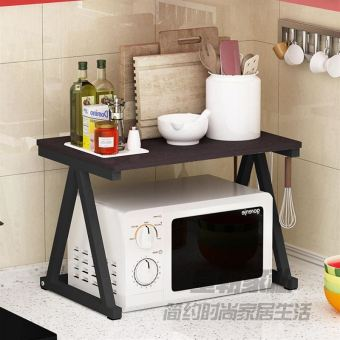 Microwave Oven kitchen shelf rack