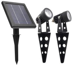 Mini 50X Twin Solar Spotlight Set Singapore