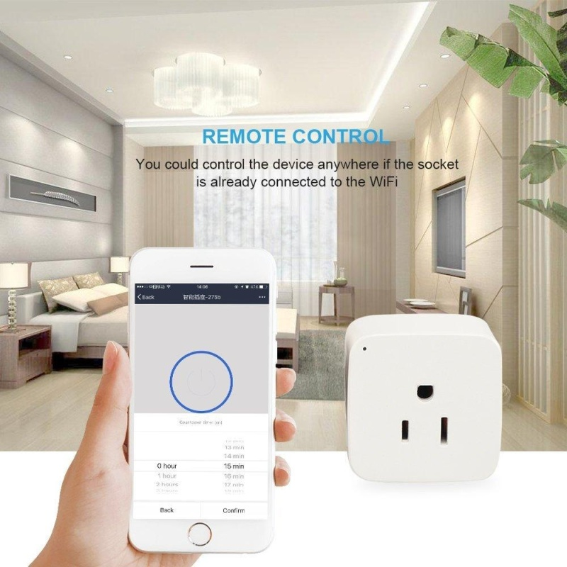Mini Wifi Smart Plug - intl