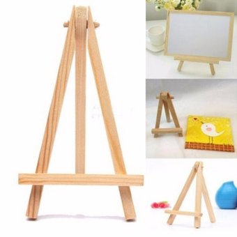 Mini Wooden Cafe Table Number Easel Wedding Place Name Card Holder Stand - intl
