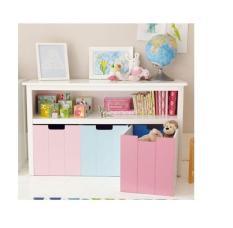 Multi Colour Bookshelf Cum Toy Organiser