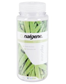 Nalgene Wide Mouth 16 oz Storage Bottle - Clear
