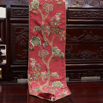 New Chinese Embroidery Table Runner Chinesestyle Classical Tablecloth Living Room Dining TV Cabinet Coffee