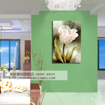 taobao restaurant decorative paintings single entrance frameless