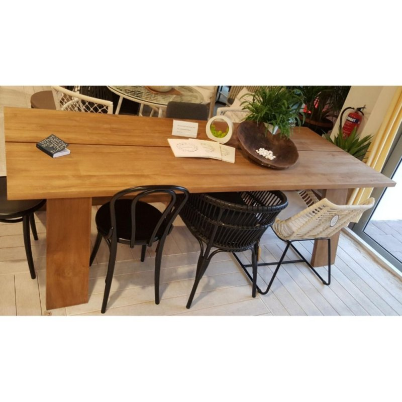Paddifield - Wooden Dining Table 01