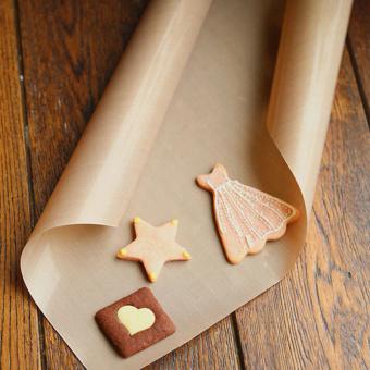 Parchment Paper Baking Pan Liner 30*40cm - 4