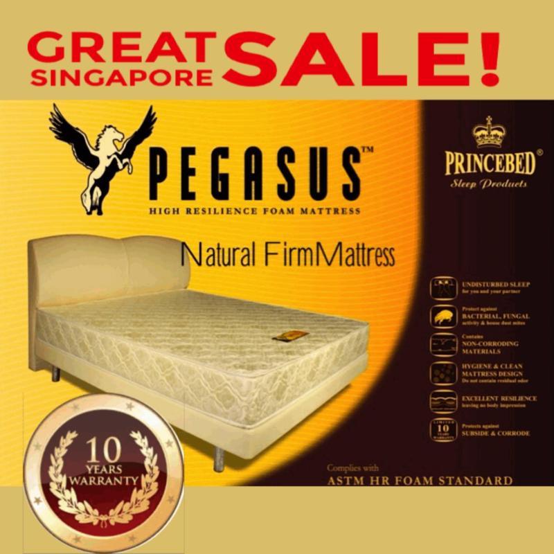 Pegasus Natural Firm High Density Foam Single 4 Inch Mattress