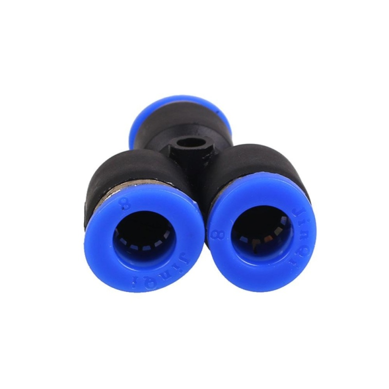 Pneumatic Equal Y Union Push Fittings Connector for Air/Water Hose Tube - intl