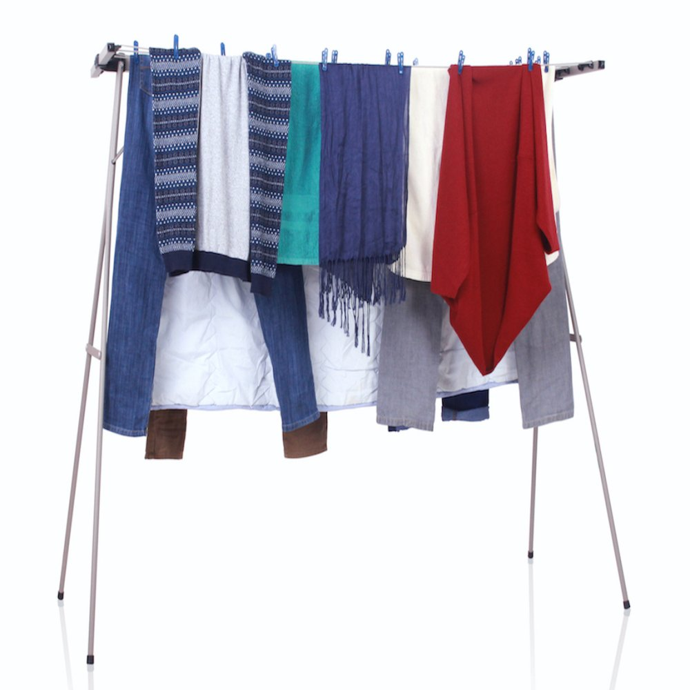 Portable Clothes Drying Rack Clothes Line Dryer Airer | Lazada Singapore