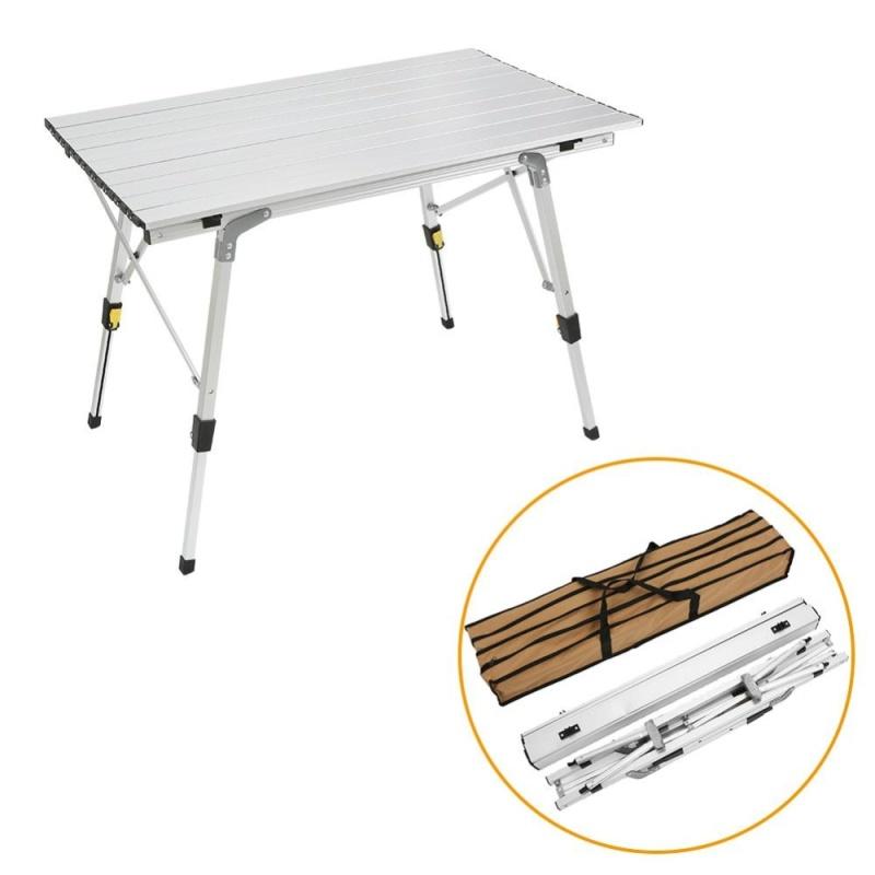 Portable Outdoor Folding Table Ultra-light Aluminium Alloy Picnic Tables - intl