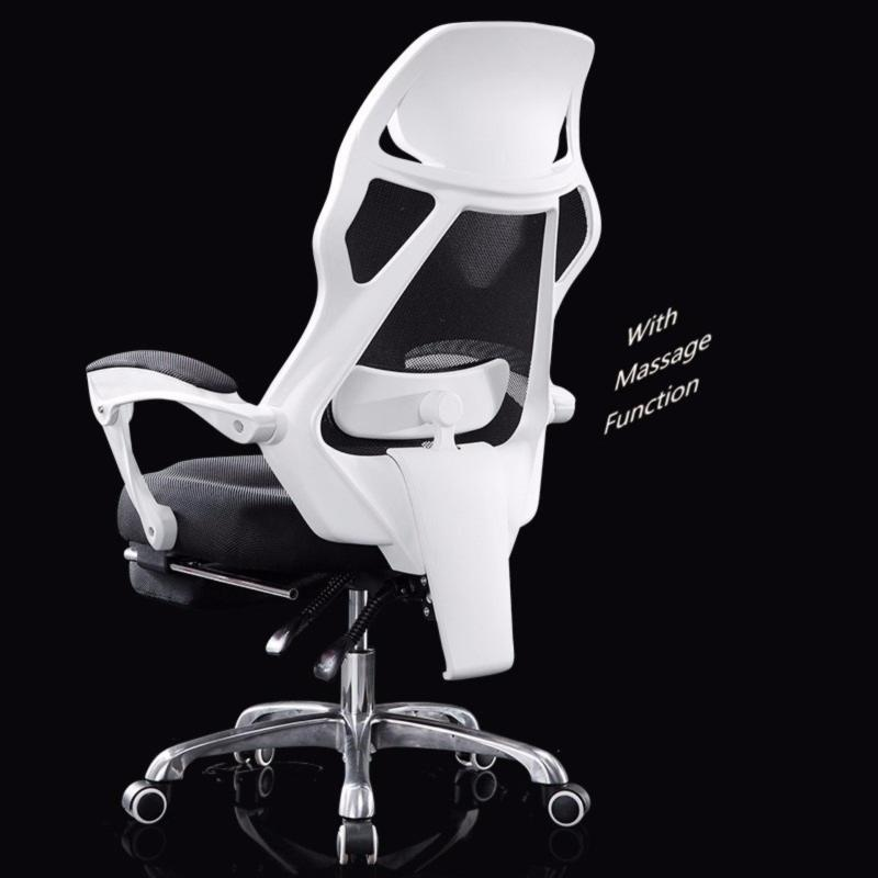 Professional Ergonomics Gaming Chair - Free Massage Function ( With Foot Rest) Singapore