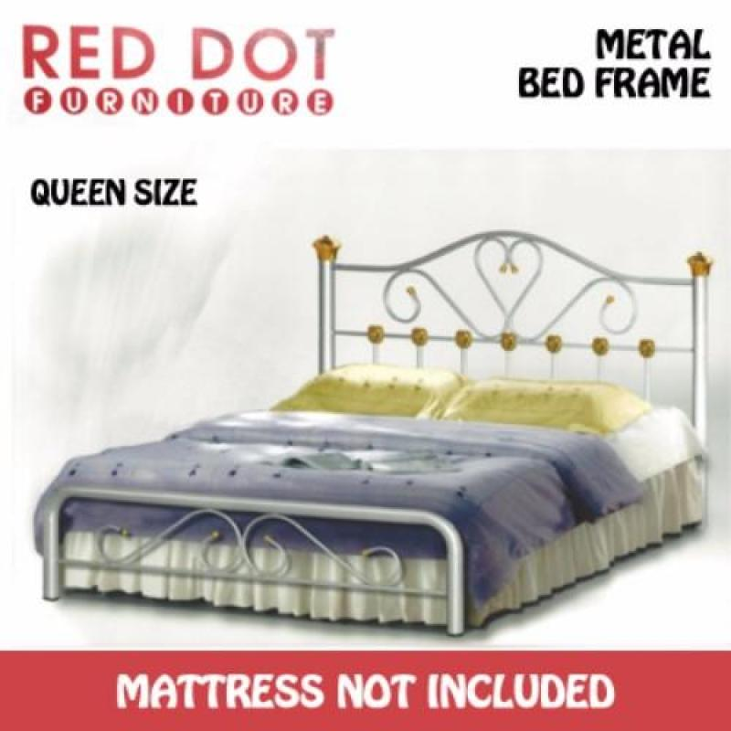 Red Dot Furniture OM516 Queen Size Bed Frame (Without Mattress)
