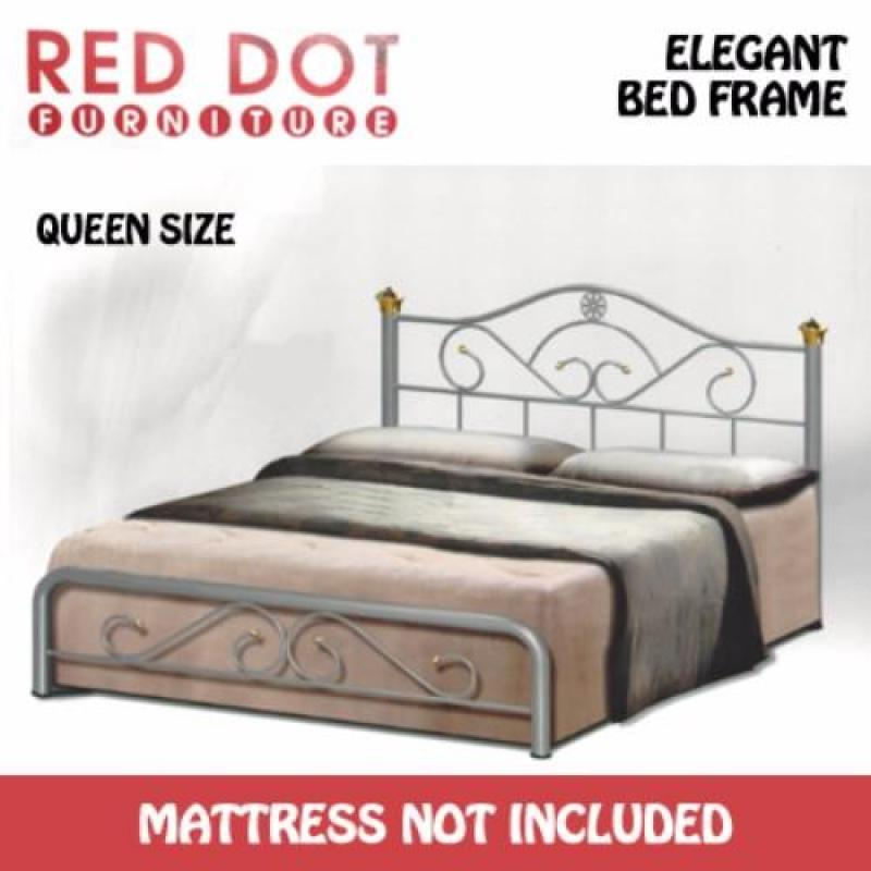 Red Dot Furniture OM519 Queen Size Bed Frame (Without Mattress)