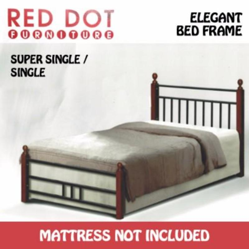 Red Dot Furniture Single Size Bed Frame - OM2017 (Without Mattress)