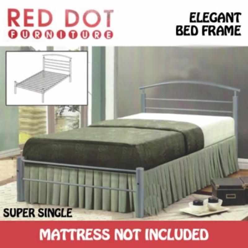 Red Dot Furniture Super Single Size Bed Frame - TPH427 (Without Mattress)