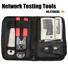 RJ45 Network Tester Cable Crimper Pliers Cat6 Ethernet LAN Networking Tool  Kit - intl Singapore