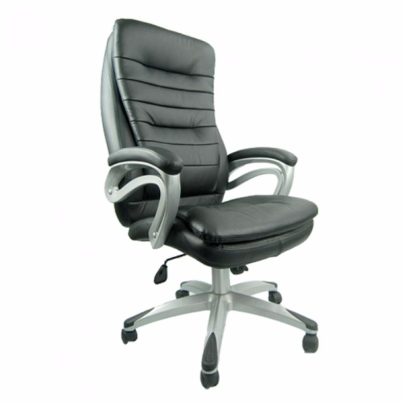Rosswell 719BT Office Chair (Black/Half Genuine Leather)(Installation Option Available) Singapore