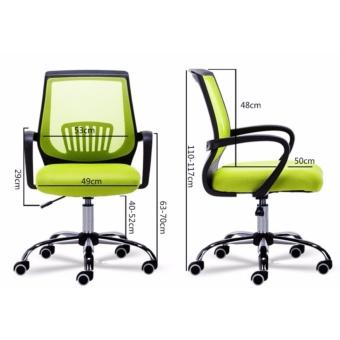 Royce Office Chair (Mesh, Classic Black ) - 3