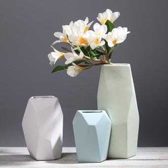 Scandinavian Minimalist Living Room TV Cabinet Ornaments Ceramic Vase
