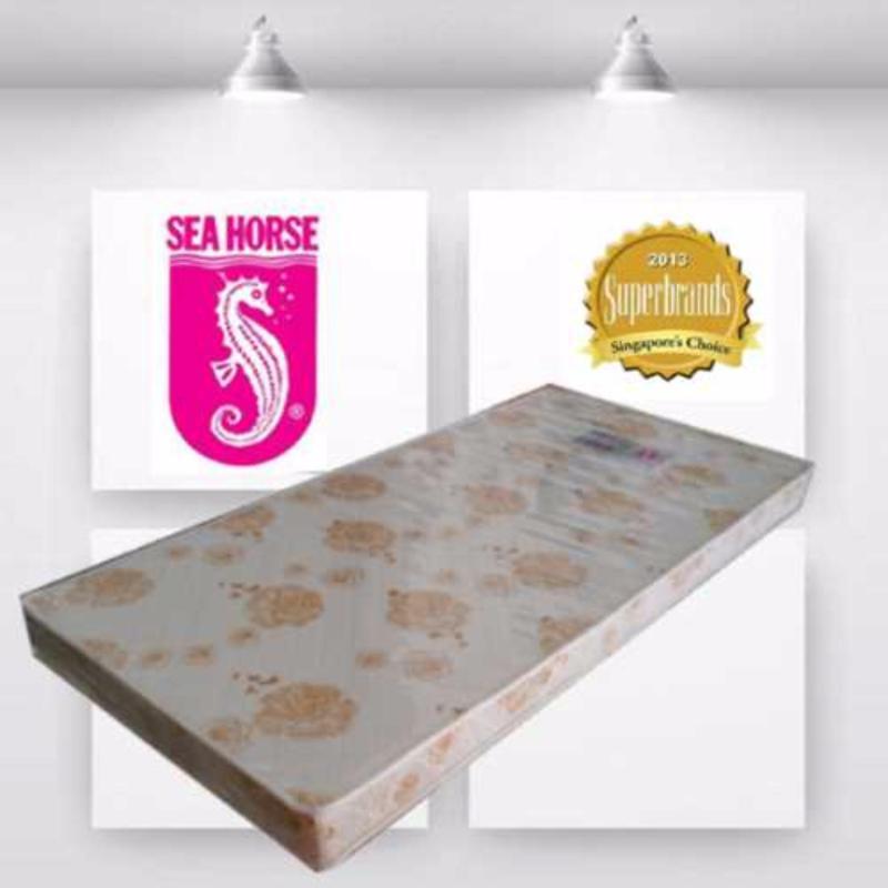 Sea Horse Crystal Super Single 4in