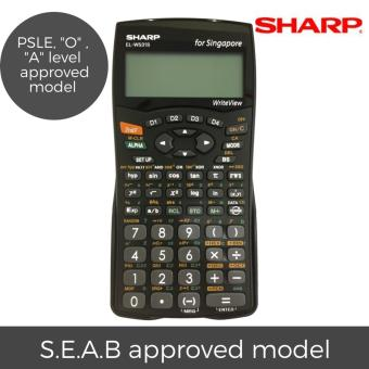 Sharp EL-W531S Scientific Calculator PSLE, O Level, A Level Approved Model (Local Warranty)