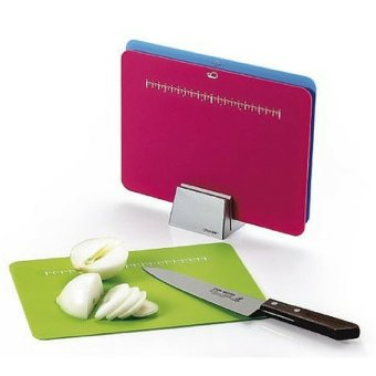Shoppy 3 Coloured Chopping Board with Ruler - 2