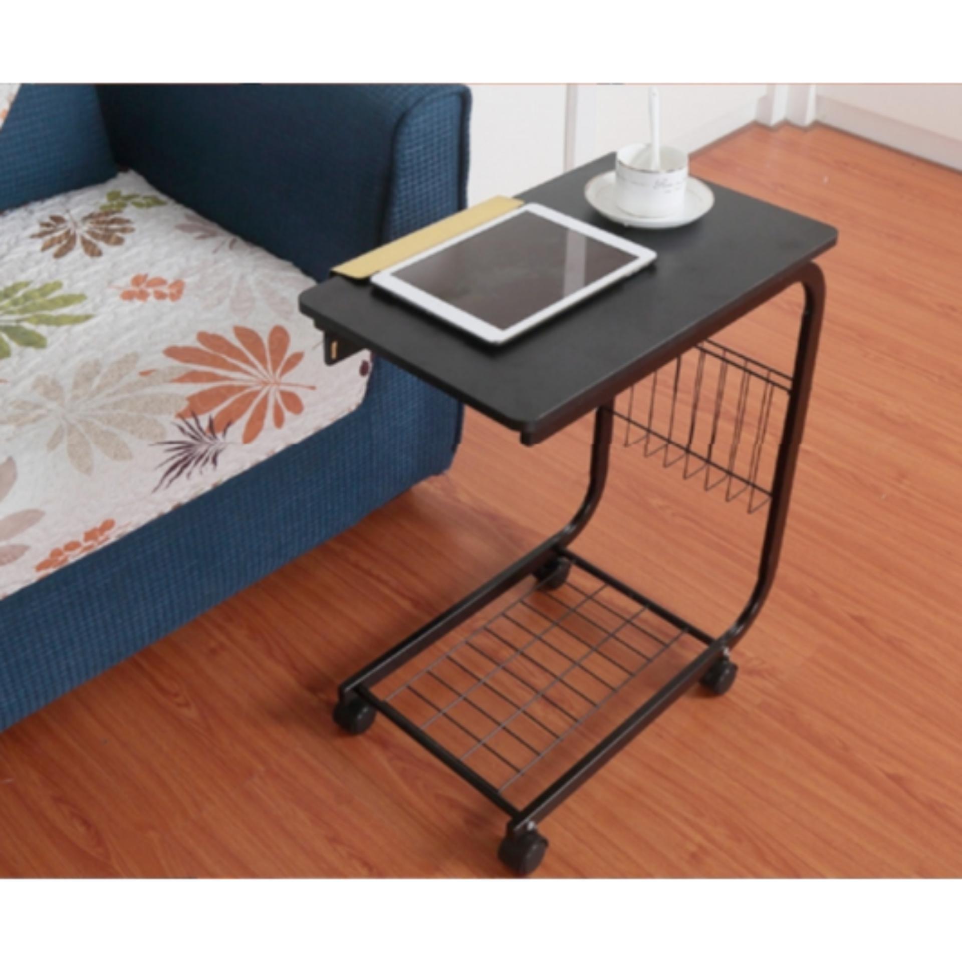 Shoppy Uni Movable Coffee Table / Laptop / Study / Bed / Kitchen / Office |  Lazada Singapore