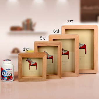 Simple photo children's wooden Photo Frame wood Photo Frame