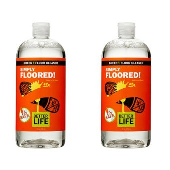 Simply Floored! Natural Floor Cleaner (Twin Pack)