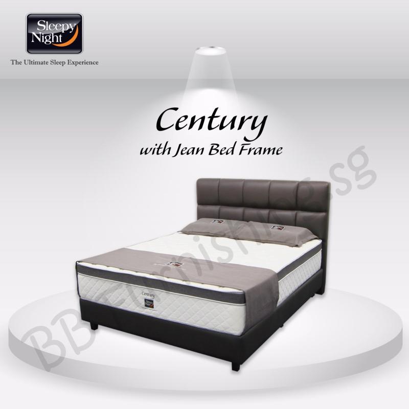 Sleepy Night (Super Single) Century Mattress with Jean Bedframe