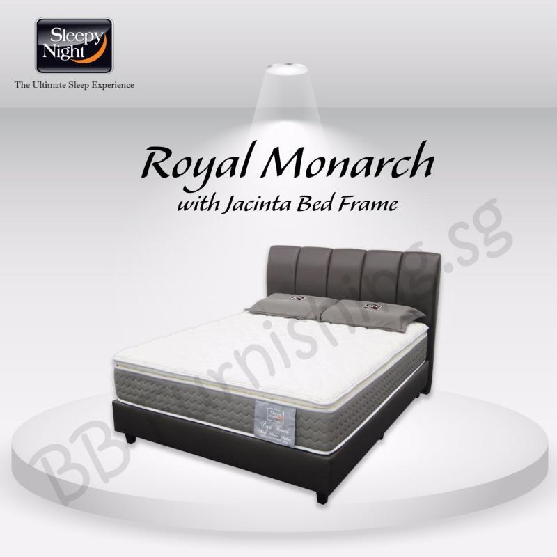Sleepy Night (Super Single) Royal Monarch Mattress with Jacinta Bedframe