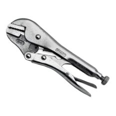Stanley 843701 Straight Locking Plier (Silver)