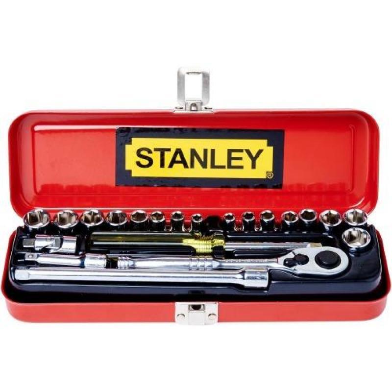 STANLEY SOCKET SET 1/4 21PC MM and AF 89-507