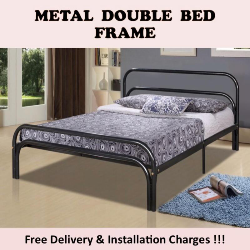 SUNNY Double Bed with Plywood Support