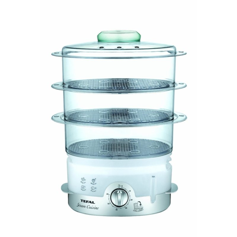 Tefal VC1006 Ultracompact 3-Tier Food Steamer Singapore