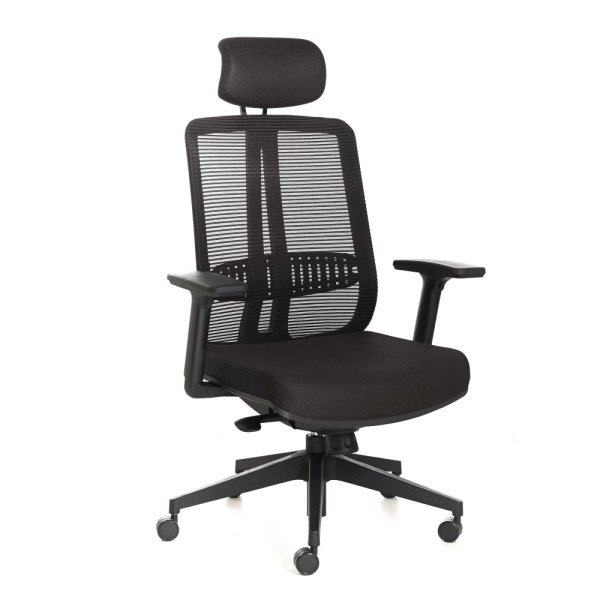 Trellis Mesh Office Chair High Back Singapore