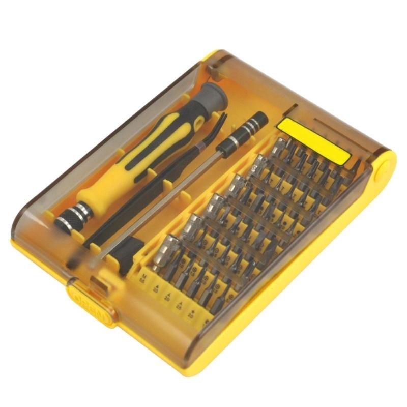 TRIXES 45 in 1 Precision Torx Screw Driver Phone Repair Tool Tweezers Kit - intl