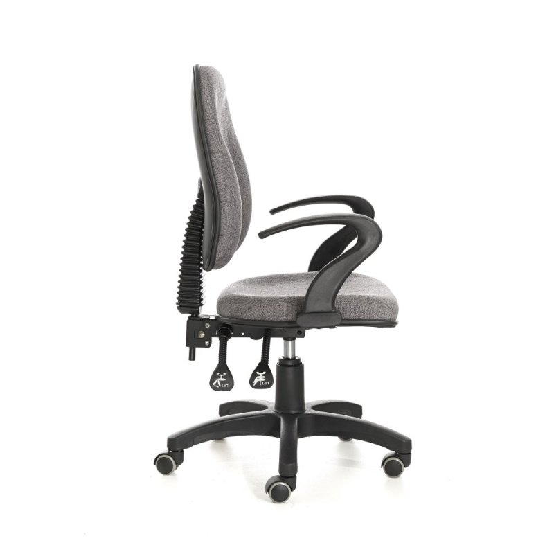 Ufficio Upholstered Office Chair Low Back Singapore