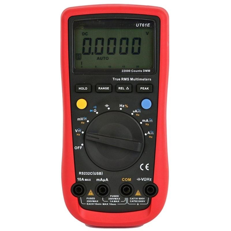 UNI-T UT61E High Reliability Digital Multimeter Modern Digital Multimeters AC DC Meter CD & Data Hold Multitester - intl