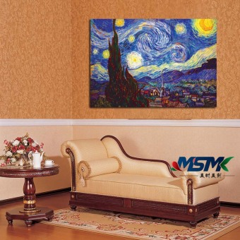 Van Gogh Abstract Oil Starry Night Star Living Room Decorative Painting