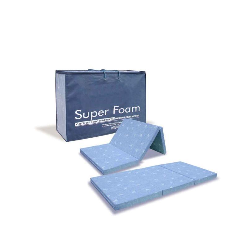 Viro Super Foam Foldable Orthopedic Mattress  Super Single 4 Inch (Free Delivery)