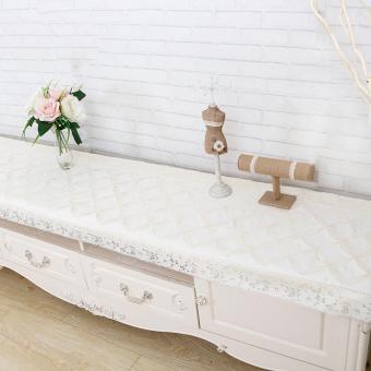 Waterproof Pvc Tablecloth Tv Cabinet Modern Minimalist Rectangular Fresh Lace Home Living Room
