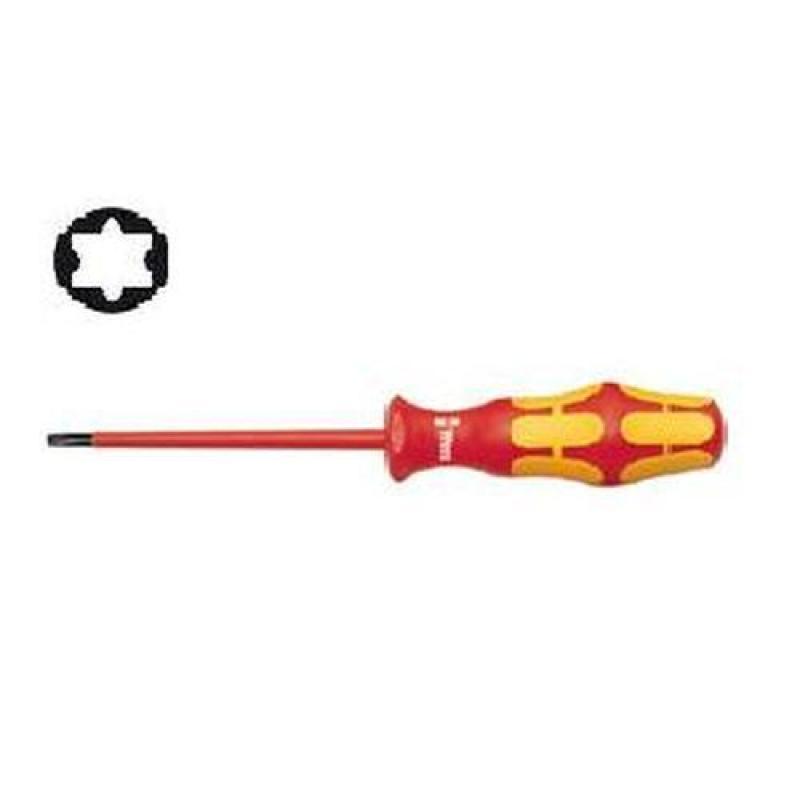 Wera 167 Torx Safety Screwdriver (1,000V) [007-233-09080]