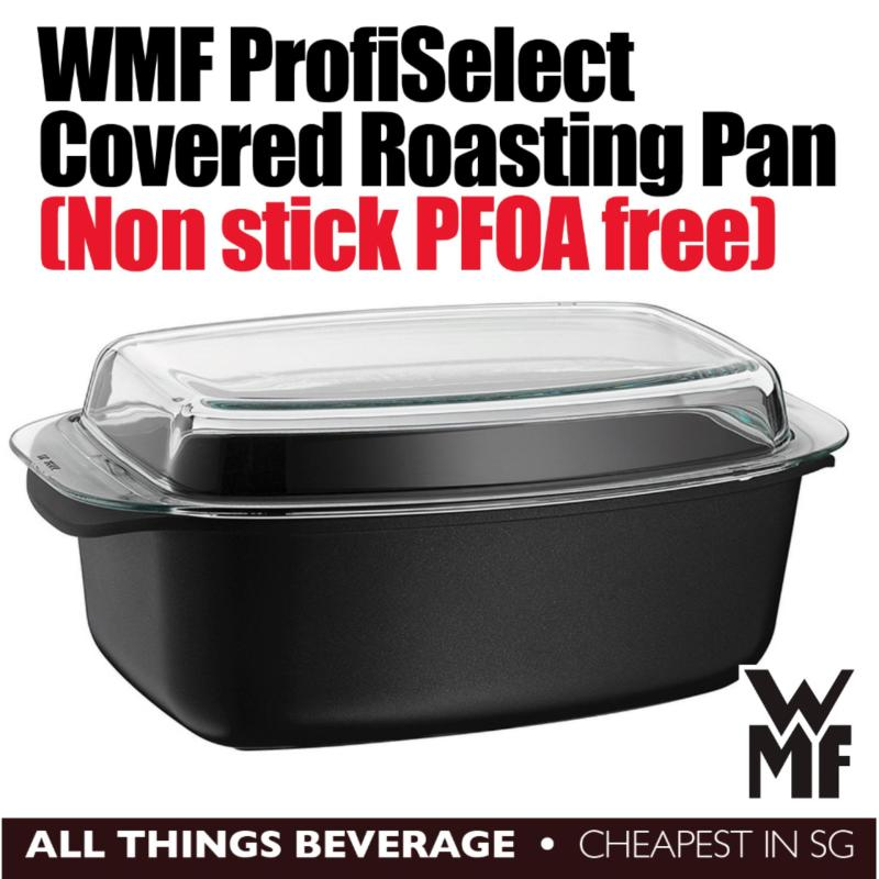 WMF ProfiSelect Covered Non Stick Roasting Roaster Pan with Glass Cover Made in Italy (Cheapest in SG) Singapore